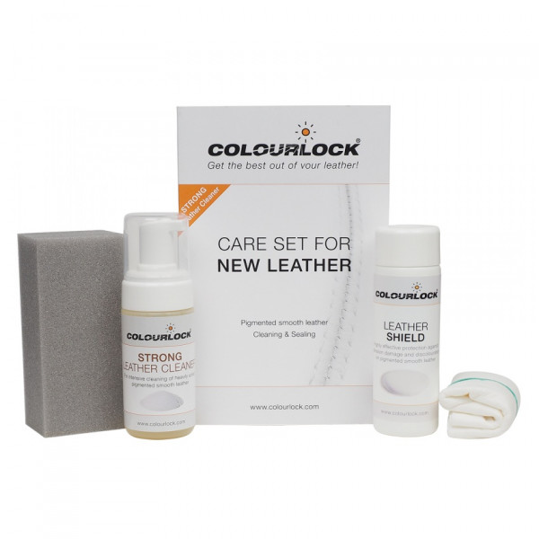 Leather Cleaning And Care Kit (Strong)