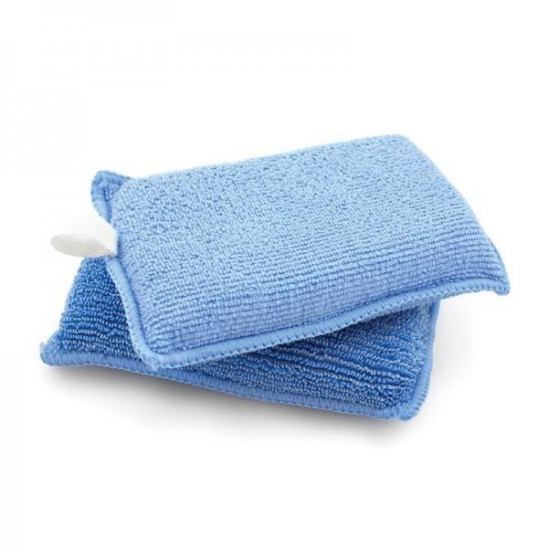 Blue Microfiber Applicator DUO