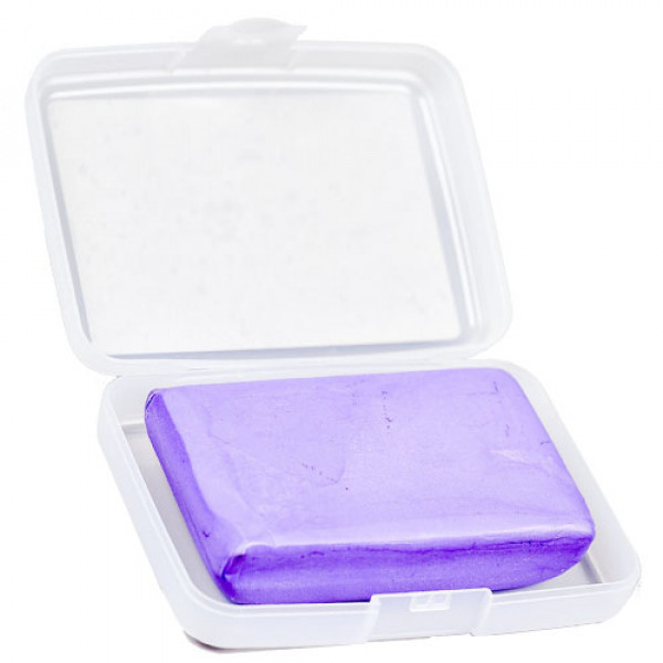 Purple Coarse Clay Bar (Gruba glina)