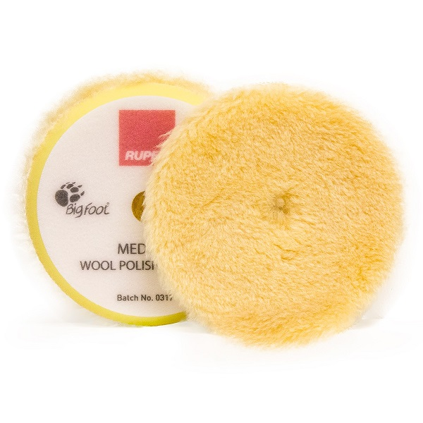 Medium Wool Polishing Pad