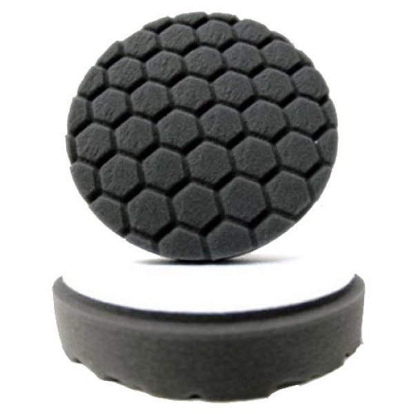 Hex-Logic Black Finishing Pad 100mm