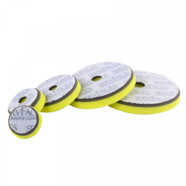 Polishing Sponge V1 (Grey/Yellow Hard, Open-Cell)